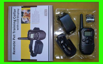 998D 100Level Vibration and Shock training dog collar with LCD display-CE