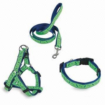 Tian Yuan Nylon Collar/Harness and Leads Set, Available in Various Sizes