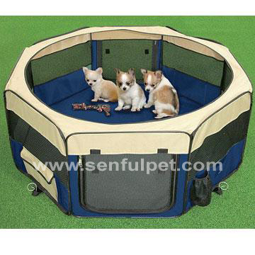 Folding Pet Playpen SDT3025