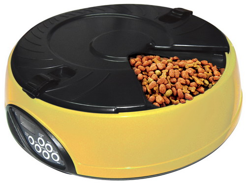 6 Meal LCD Automatic Pet Feeder dog feeder pet bowl