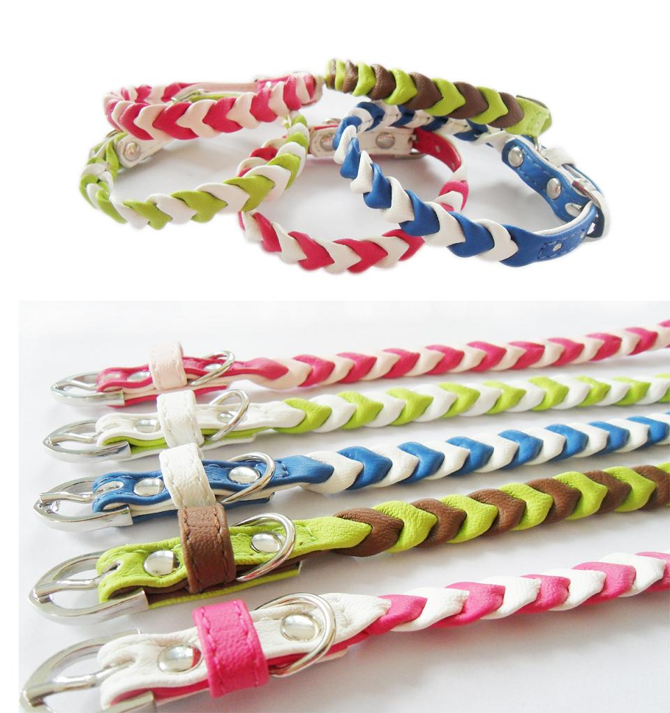 dog collar with rope style