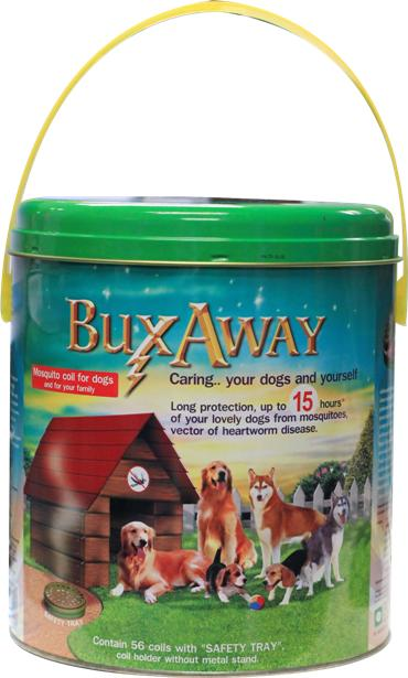 BuxAway mosquito coil