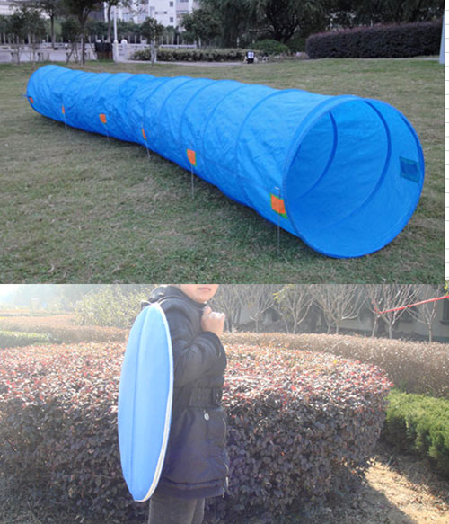 Folding Dog Tunnel