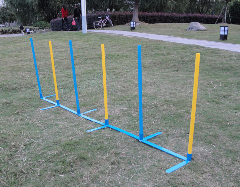 Dog Agility Slalom, Dog Agility Products,Dog Practice Weave Poles