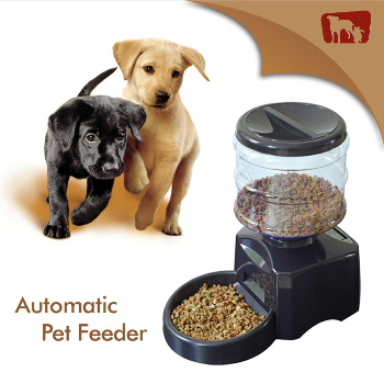 Electronic portion control, Automatic pet feeder