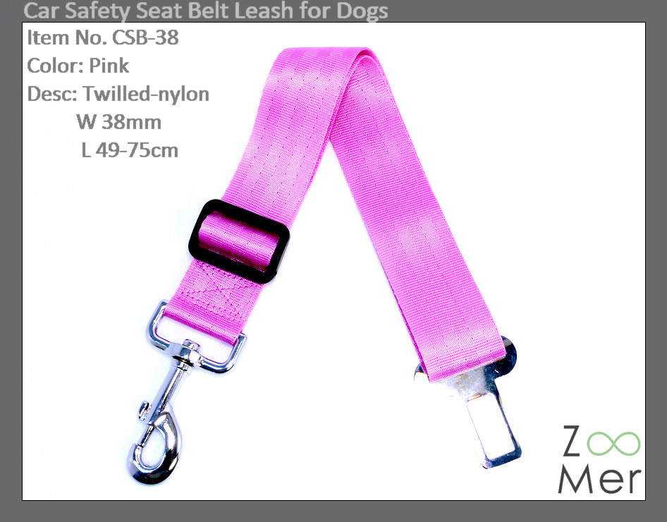 Car Safety Seat Belt Leash for Dogs