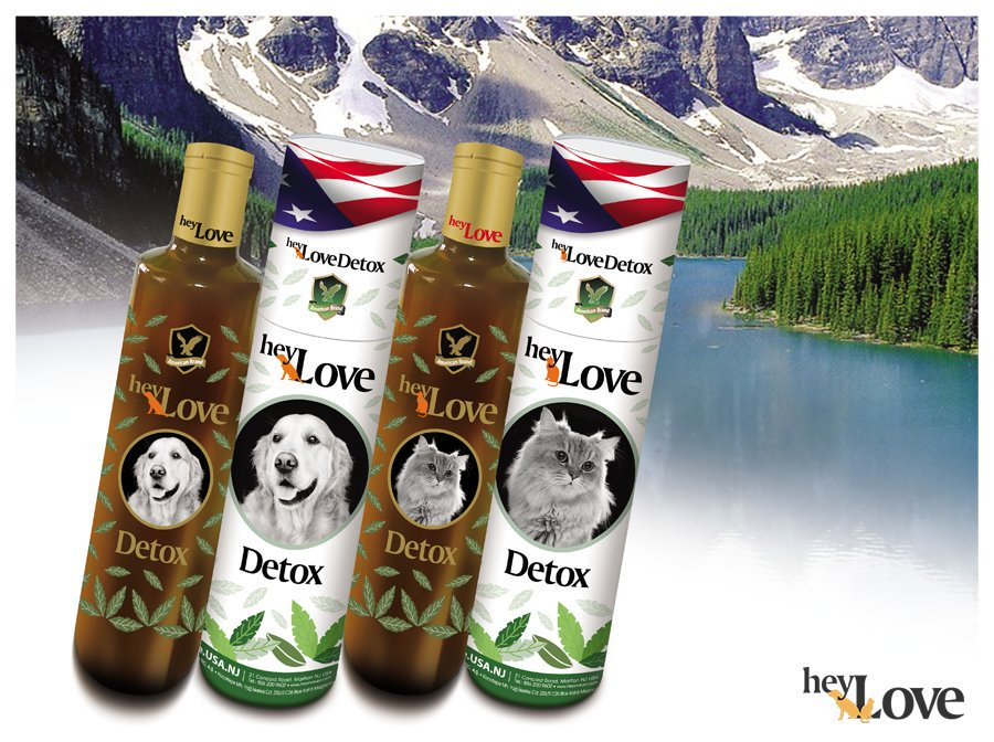 100% ORGANIC DOG DETOX ALSO FOR CATS NATURAL PRODUCT