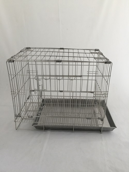 DOG STAINLESS STEEL WIRE CAGE