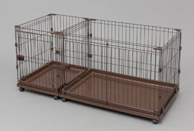 Pet training cage