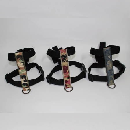 Camouflage dog harness & leash