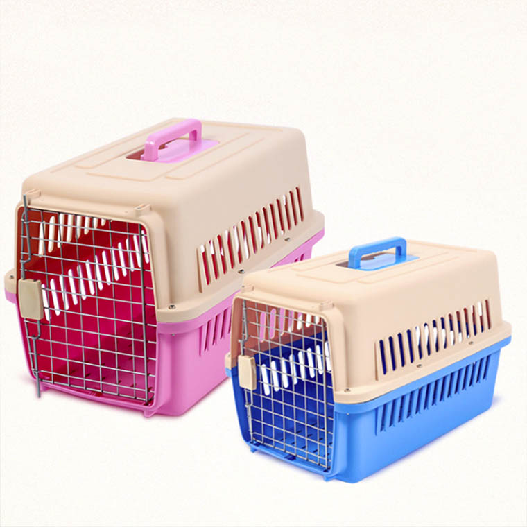 New model ABS+PP materials pet air cage travel multi-model pet carrier airline approved
