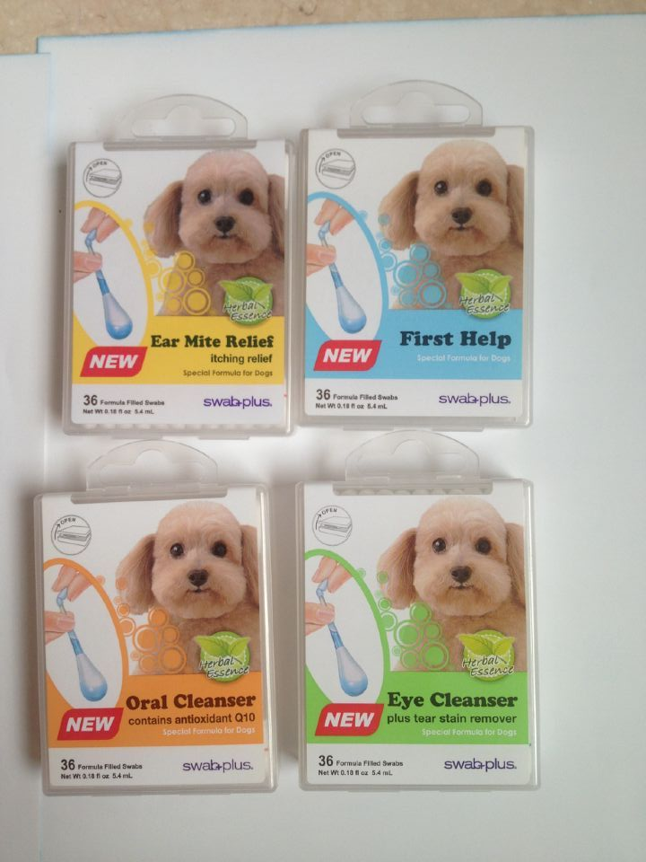 swabplus Pet Eye cleanser care swabs 36pcs