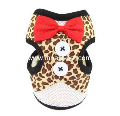 2017 new design cute pet dog harness for small dogs