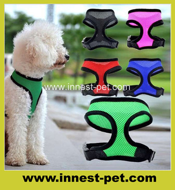 Cheap Price Mesh Dog Clothing Harness/Pet Products dog walking harness
