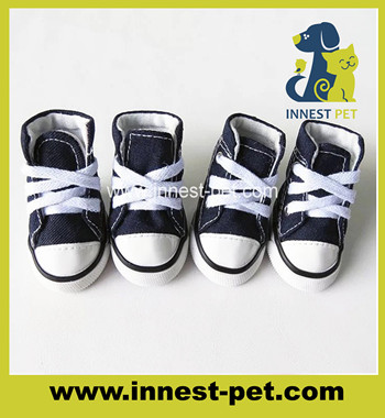 Pet Supplies Accessary Outdoor Walking Dog Canvas Shoes
