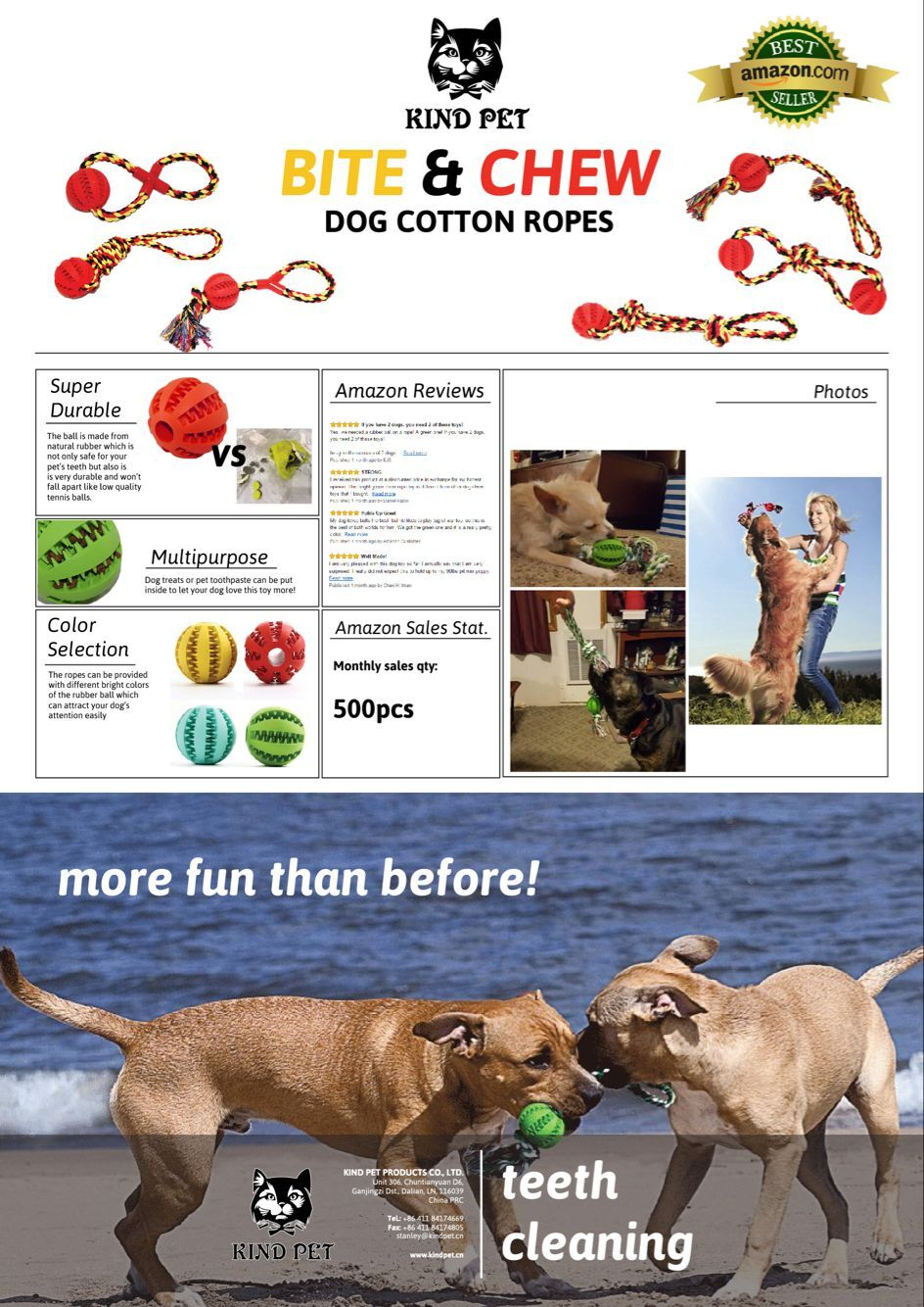 dog cotton rope