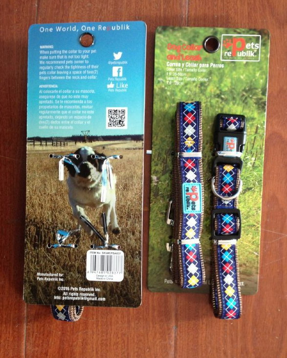 Dog Leashes & Collar Sets.