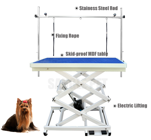 Pet lifting grooming table,electric grooming table,grooming supplies, china factory