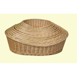 Wicker Basket Dog Beds